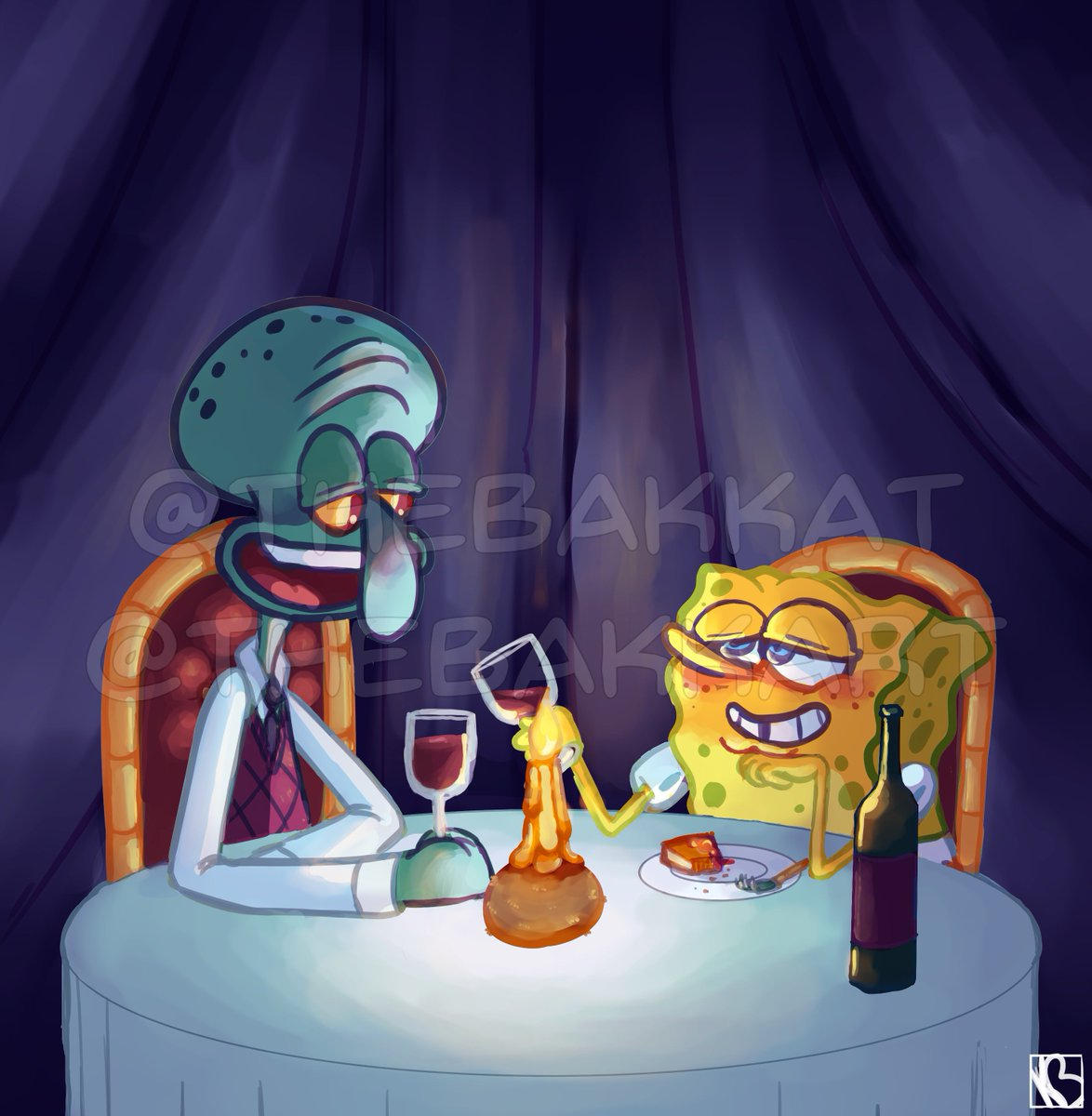 Spongebob Dating Krabby Patty