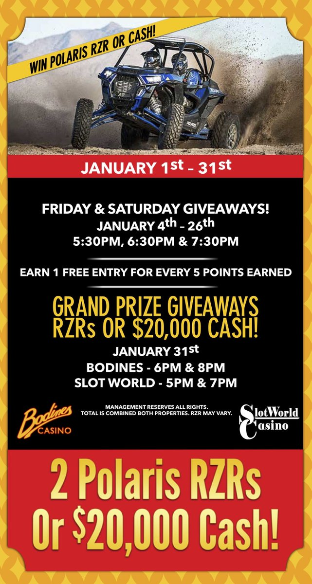 Bodines Casino on Twitter: