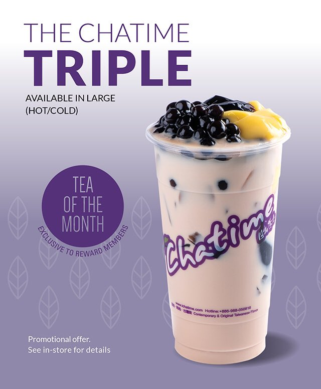Chatime Canada on Twitter: