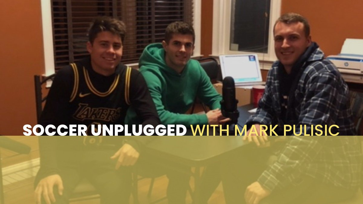 Episode 5 is out: itunes.apple.com/us/podcast/soc…. Christian Pulisic, Will Pulisic and Logan Panchot open up about their development as players and share some awesome insight for coaches and parents. Wed love for you to share it with others who might find it valuable!