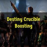 Image for the Tweet beginning: Glory - Crucible Rank Boosting