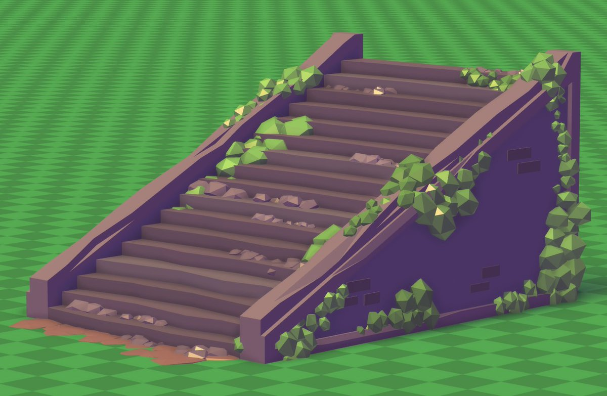 Rdite On Twitter Damaged Stairs Roblox Robloxdev