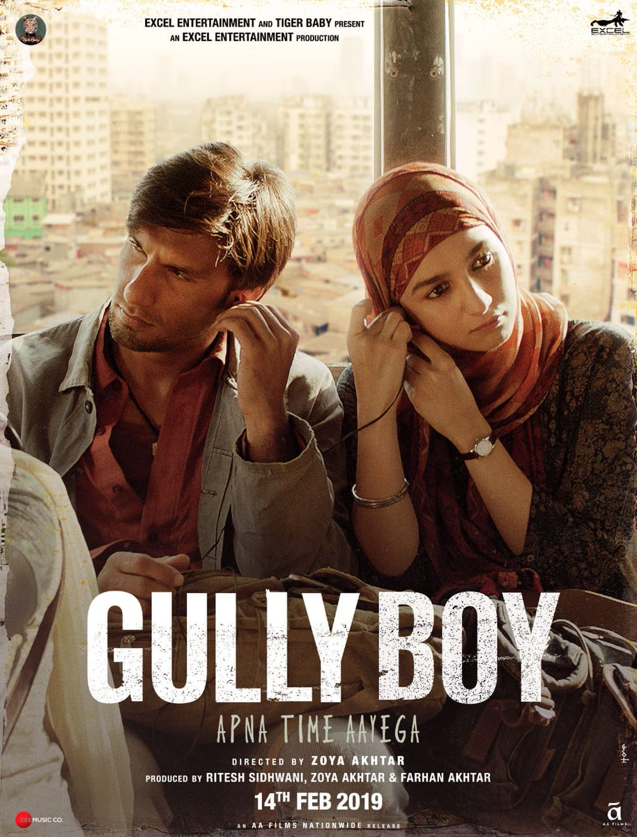 Image result for gully boy poster""