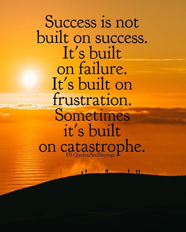 Motivational Quotes On Twitter Success Is Not Built On Success