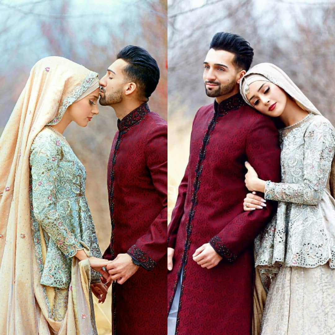 Fashion Collection Pakistan On Twitter Fashion Collection Sham Idrees Wedding Pictures Exclusive We Are All Familiar With The Youtube Pair Sham Idrees And Froggy Aka Saher Yes Froggy S Real Name Is Saher Froggy Shamidees