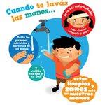 Image for the Tweet beginning: ¡El lavado de manos con