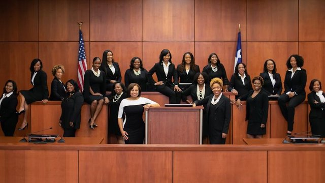 31edc22d6b56 Texas county swears in 17 black female judges after historic midterm  election https