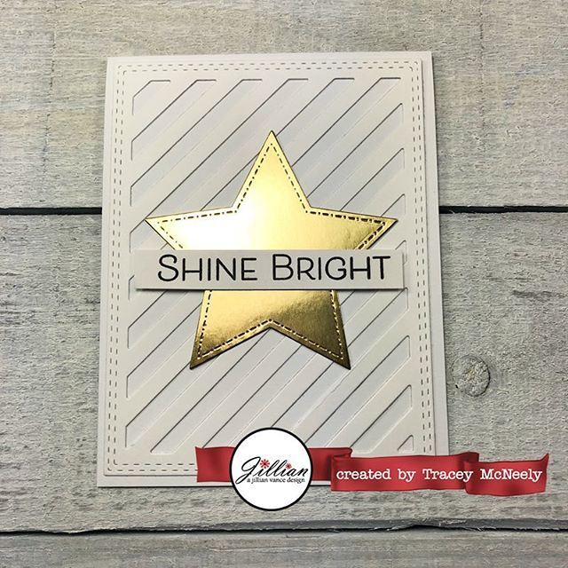 I am up on the A Jillian Vance Design blog today with a New Year's card for you--Shine Bright in 2019! 💫 #ajillianvancedesign #cards #cardmaking #handmade #handmadecards #papercrafts #papercrafting #creativelife  #inmycreativeopinion  #tw