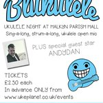 Image for the Tweet beginning: Blukulele 2019! We are giddily