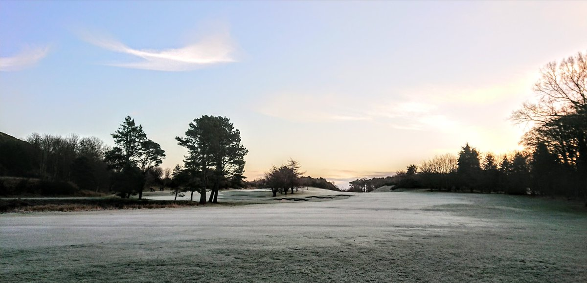 test Twitter Media - Jack Frost has left us a white and crisp start to the day. Resulting in 18 Winter Green's being in use. https://t.co/sfrRba2woG
