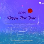 Image for the Tweet beginning: Greetings From Scanetchain!New Year Begins!