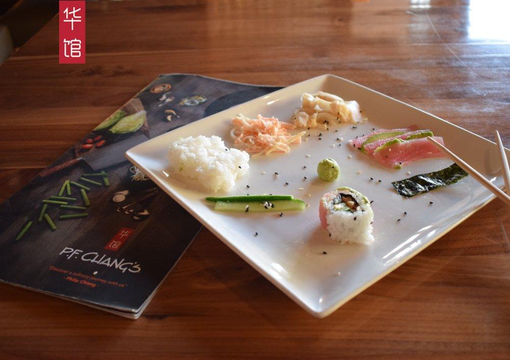 This is how we roll. #PFChangsLebanon #TunaLover #Sushi #Roll #RainbowRoll #Pickle #Sesame #Rice #Chopsticks #Menu https://t.co/ANBXlfGo3z