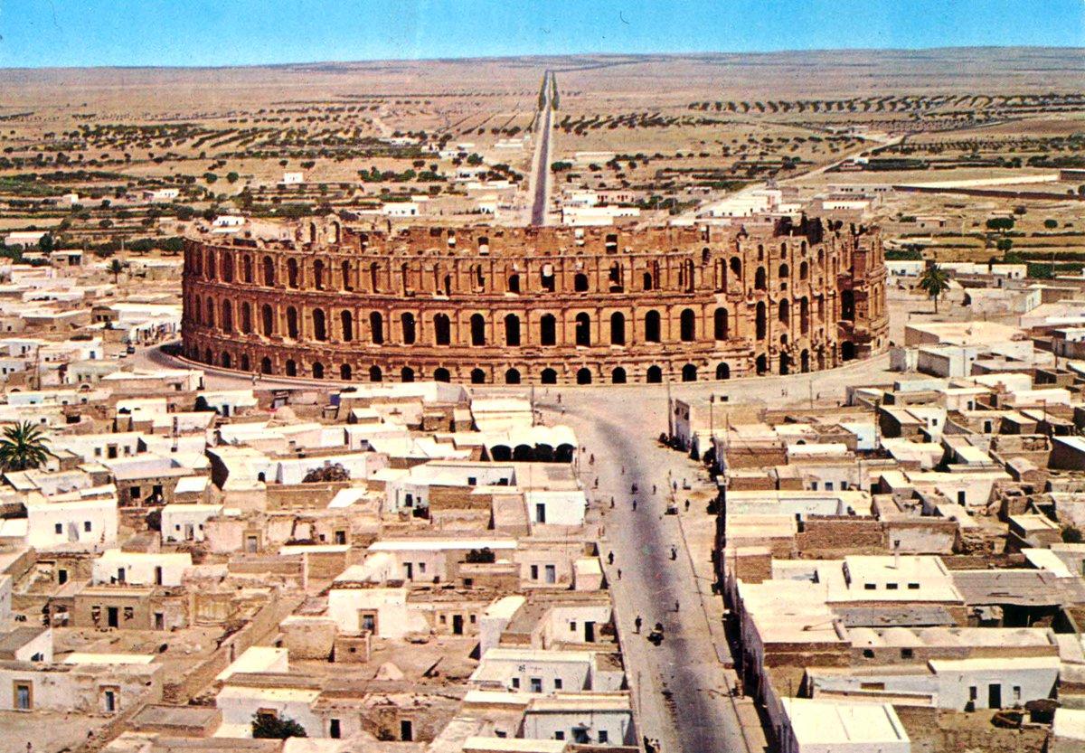 """Viaje al Patrimonio в Twitter: """"En la actual Túnez, la ciudad ..."""