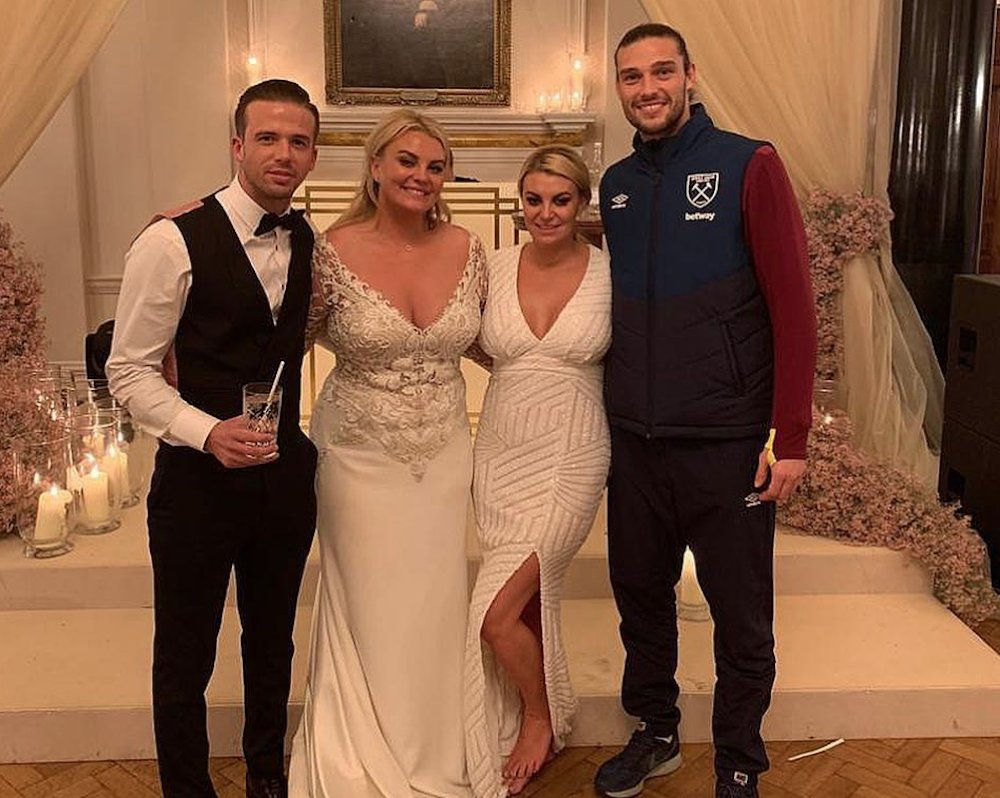 f02134b700b0 Shoutout to Andy Carroll for attending a wedding in a tracksuit https   t