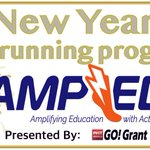Happy New Year!AMP up 2019 with a new running program!Go! Grant is still open!  #GettingAMPED #GOGrants