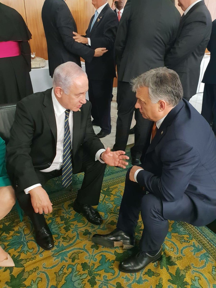 While I was in Brazil, I met with Hungarian PM Viktor Orban and expressed my appreciation for his strong support in international forums in Europe. We also discussed a visit to Israel by the Visegrad Group (Hungary, the Czech Republic, Poland, and Slovakia) heads of government.