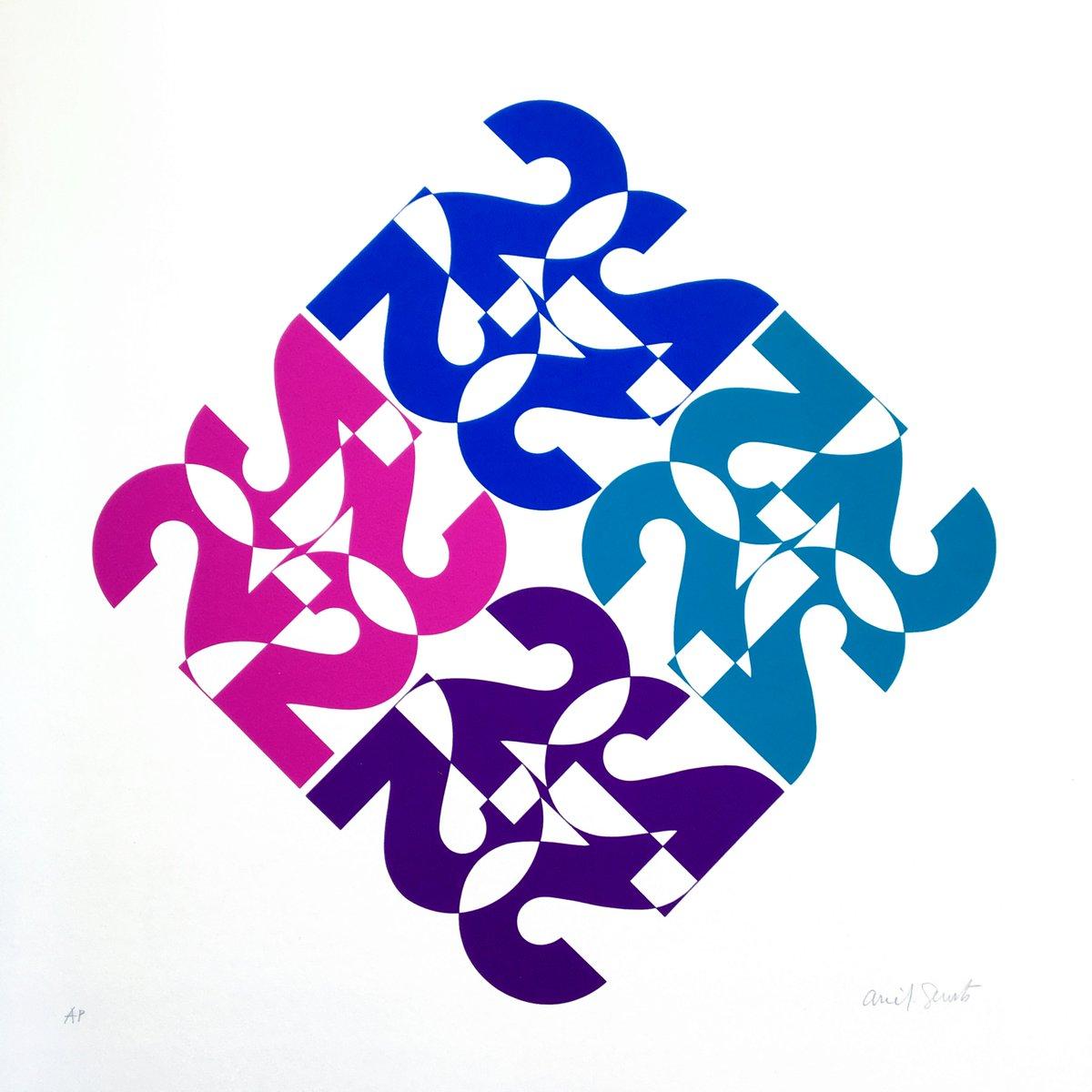Calendario 1976.Letterform Archive On Twitter Arie J Geurts Calendario
