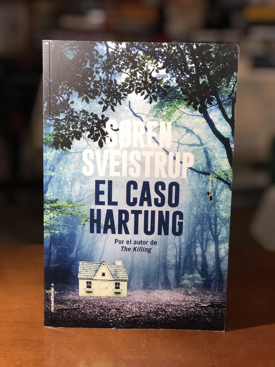 EL CASO HARTUNG #ElCasoHartung #SørenSveistrup @rocaeditorial. Una novela  negra adictiva escrita por el guionista y creador de la serie The Killing.