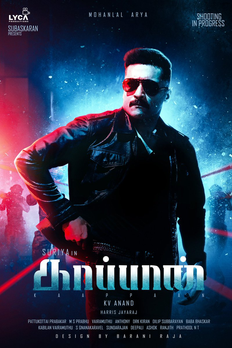 Kaappaan First Look and Posters