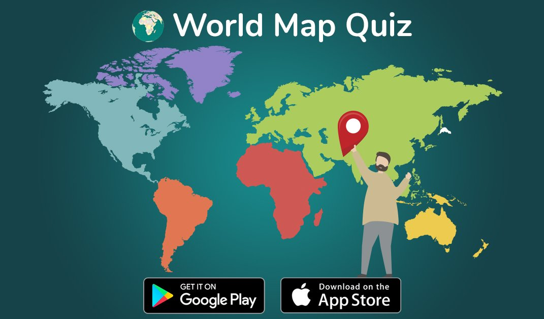worldmapquizapp The world is not in your maps and books... It's out on