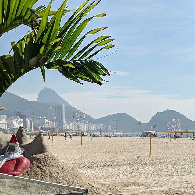 The view from Copacabana Beach - Sugarloaf and other formations are there in the distance.  #sugarloaf #paodeacucar #praiadecopacabana #viewfromcopacabanabeach #viewsfrommyrun #riodejaneiro #beachview #brazil #morningrunviews #morningbeachrun #beachrun #beachvacation #wander…pic.twitter.com/aR1Ftzw2eK