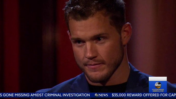Bachelor 23 - Colton Underwood - Media - SM - Discussion ...