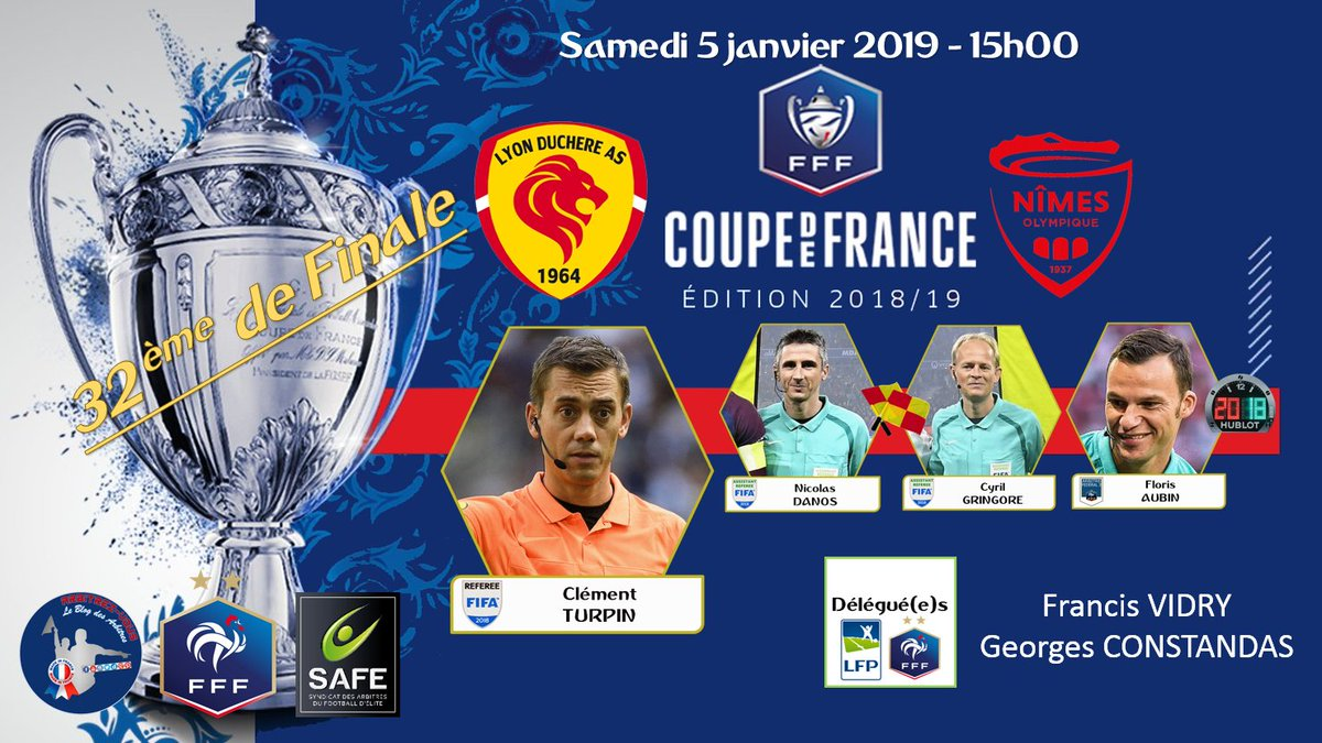 COUPE DE FRANCE -. ÉDITION 2018-2019. Dv6O0fmWwAI-rZf