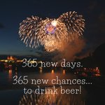 Image for the Tweet beginning: Happy Brew Year! We're back
