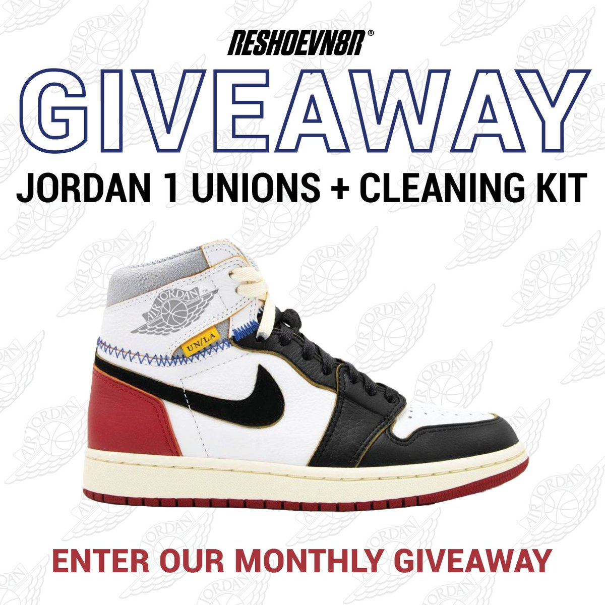 Happy 2019! We are giving away Unions! Retweet this photo for an extra entry into the giveaway and click here for more entry methods https://reshoevn8r.com/pages/giveaway