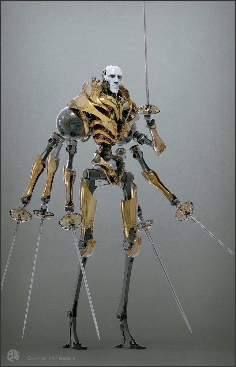 is edward scissorhands a robot