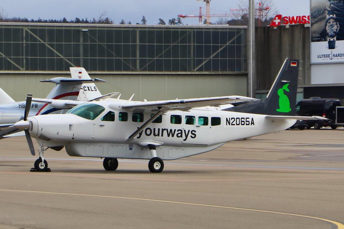 Swissspotter On Twitter Textron Aviation N2065a Cessna 208b Grand Caravan Zrh 02 Jan 2019