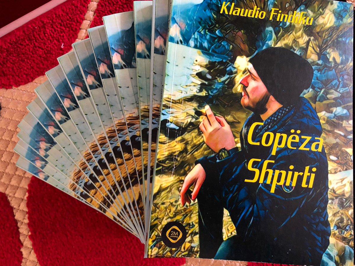 Klaudio Findiku Libri Copeza Shpirti.    #klaudiofindiku #copezashpirti