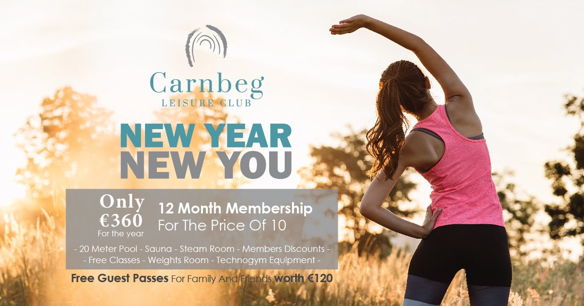Our January gym membership offer is now live! #gymmotivation #NewYearNewYou