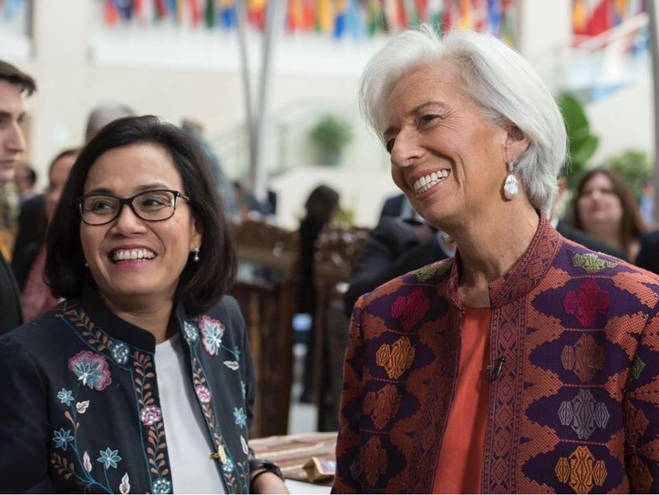 Congratulations to my dear friend Sri Mulyani Indrawati of Indonesia for being named Finance Minister of the year by The Banker. Well done. Well deserved.  @KemenkeuRI
