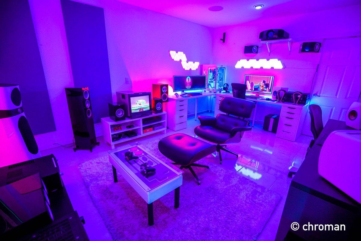 . Newegg on Twitter   Insane gaming room built by  chroman More specs