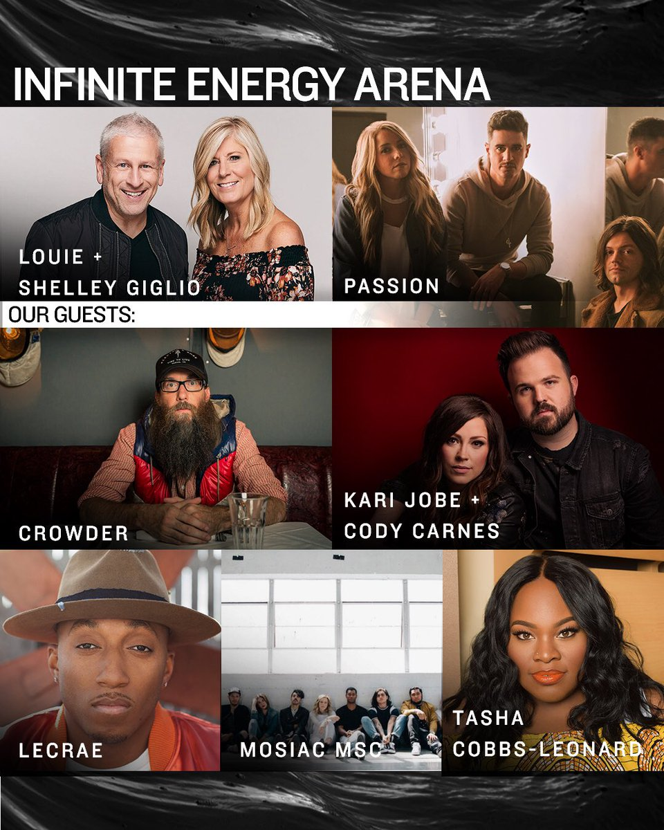 I'll be performing @passion268 tomorrow at Infinite Energy Arena and State Farm Arena. Hope to see y'all there.