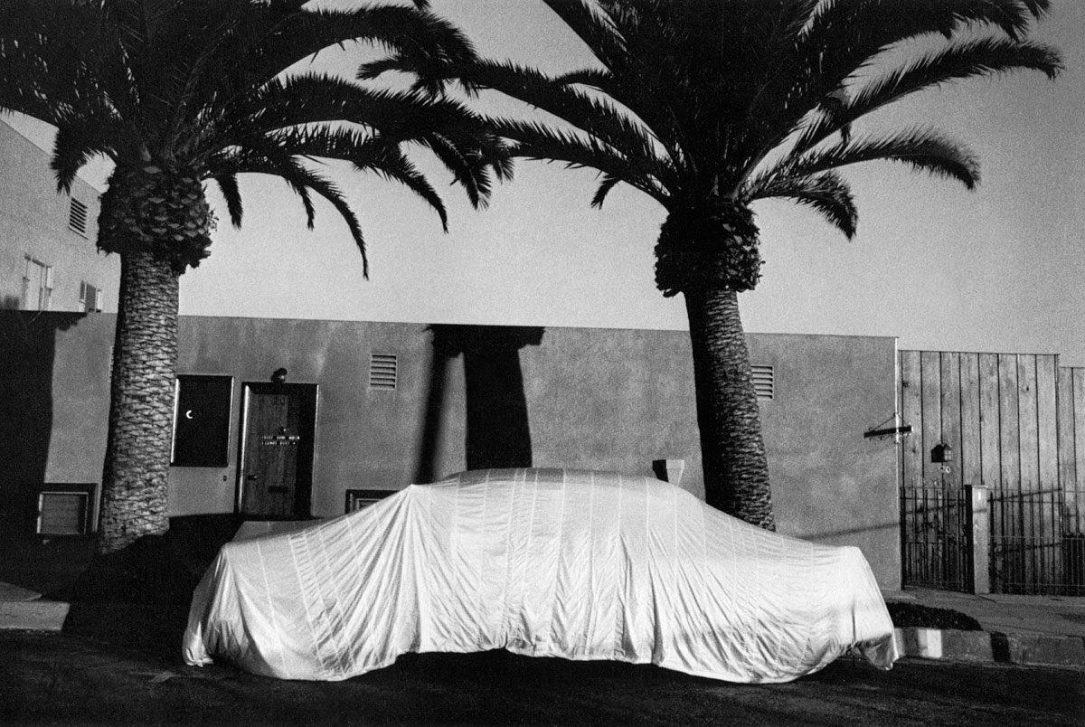Covered Car  Long Beach, California , 1955–1956 #robertfrank #photography #art