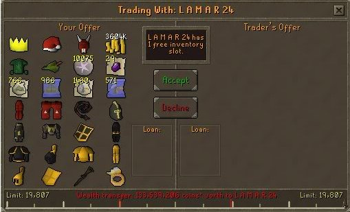 Today 11 years ago, free trade was removed in an attempt to stop real-world trading. This came 3 weeks after Wilderness PvP had been disabled.     Both changes are among the most controversial in the history of RuneScape. They were undone in February 2011 after a referendum.