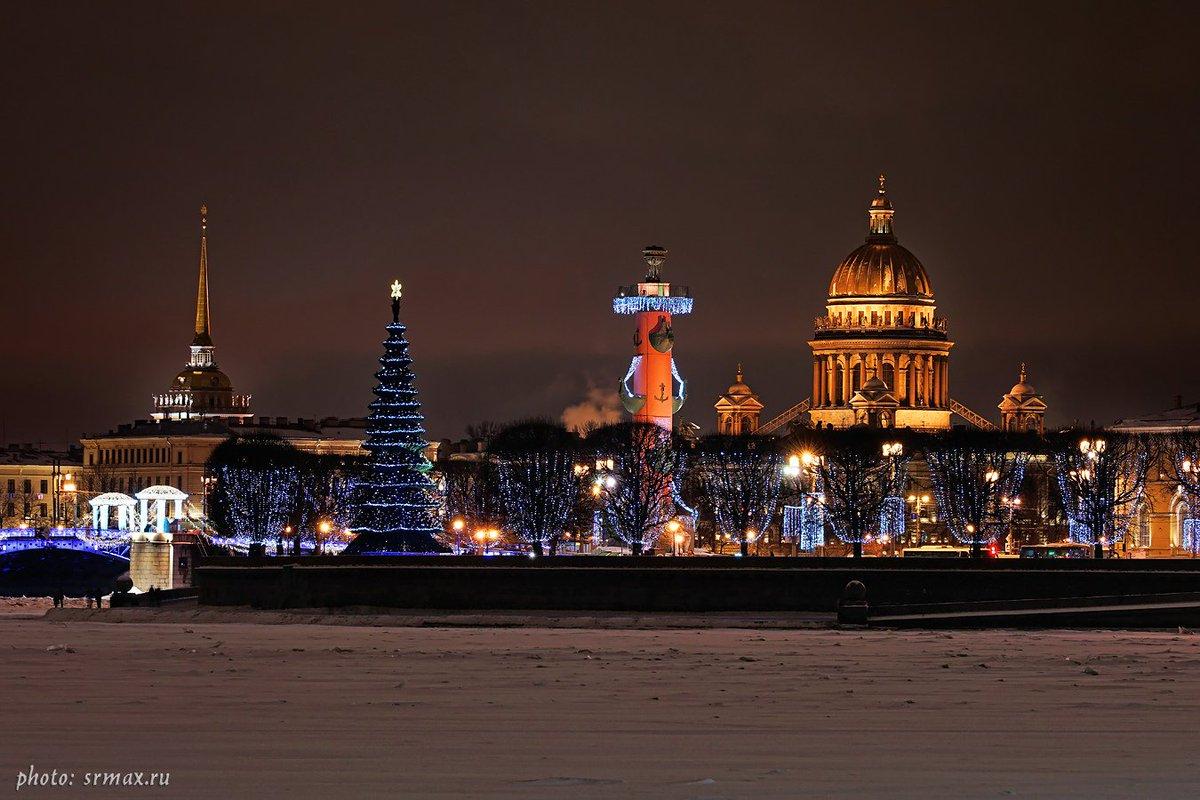 Картинки петербург новый год