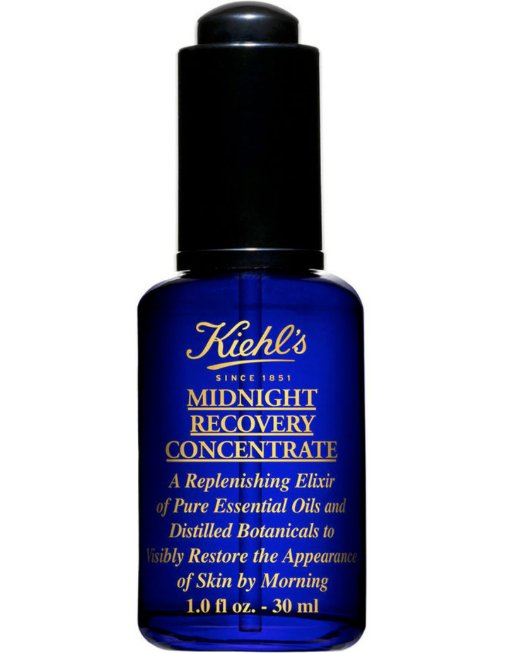 Kiehl's Midnight Recovery Concentrate contains pure essential oils & distilled botanicals. It's fab! I'm giving one away. To enter, follow @davelackie & RT