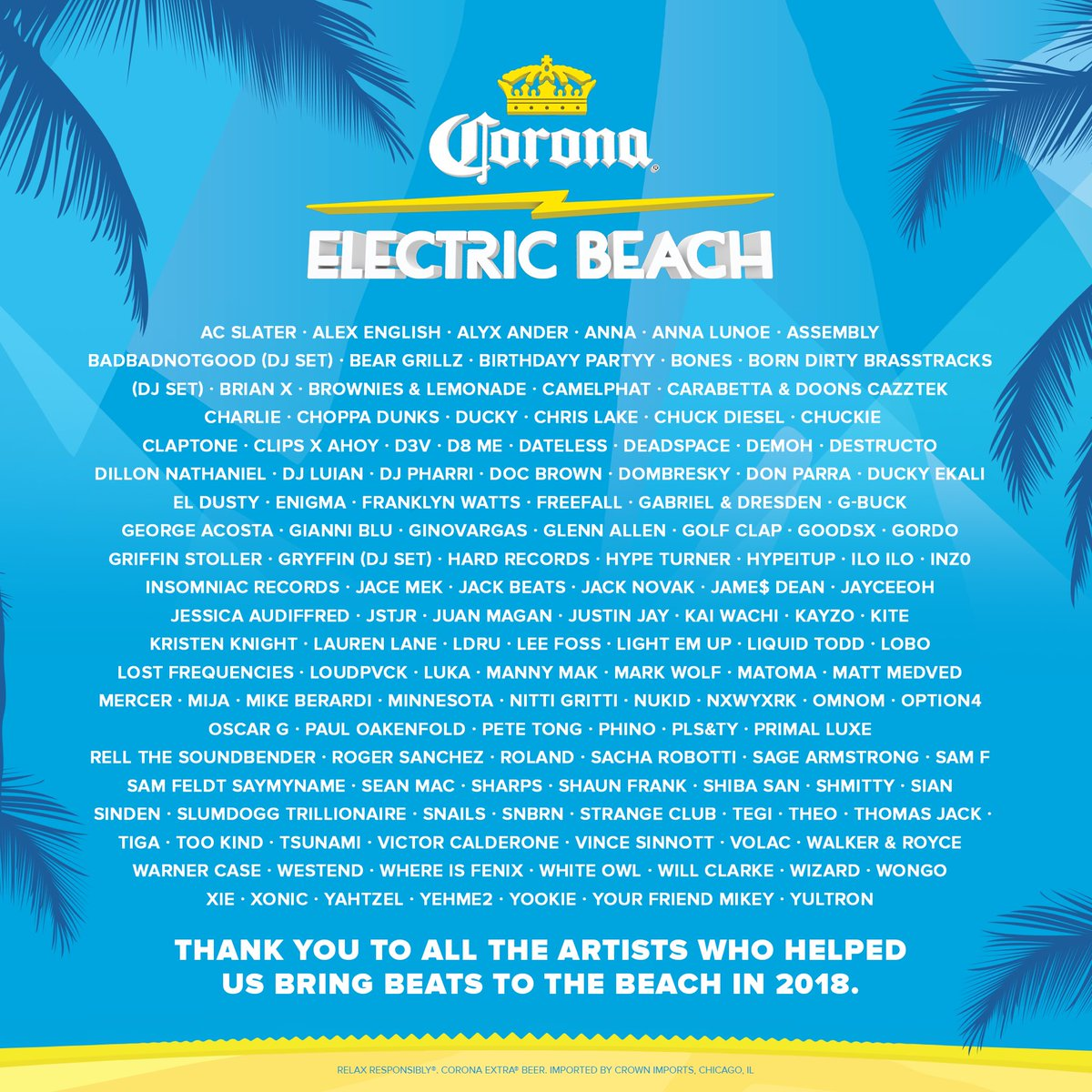 Electric Beach on Twitter: