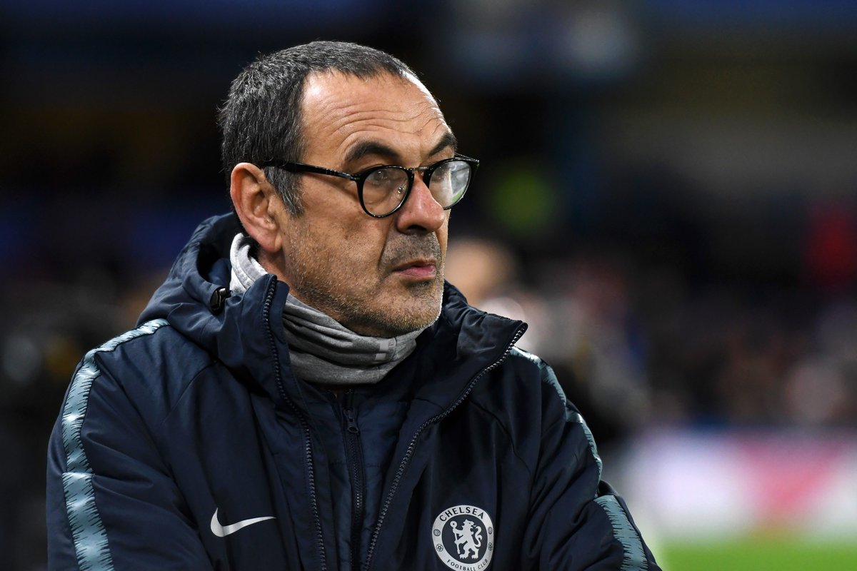 Maurizio Sarri Is About To Offer His Verdict On Tonights Game CHESOU