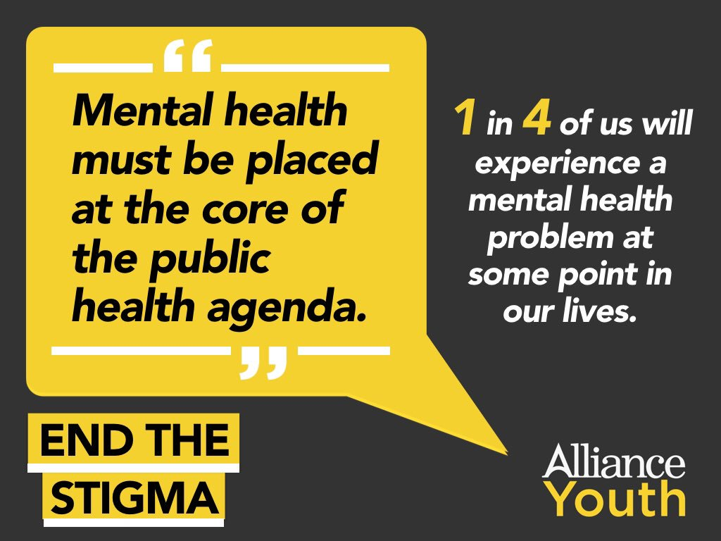 Alliance Youth On Twitter Mental Health Services Are Still