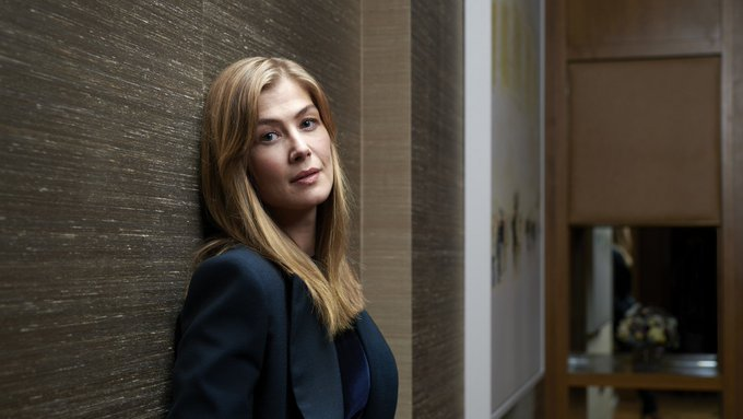 We shouldnt forget 27 January is day Rosamund pike was born  Happy birthday