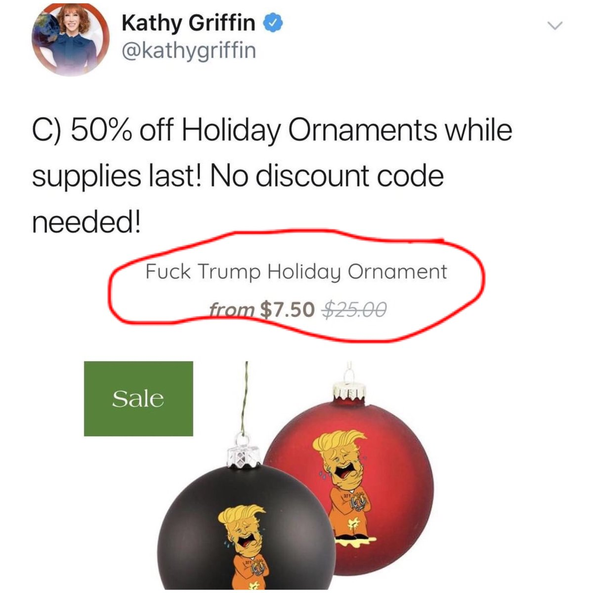I know he broke you @kathygriffin but did he break your calculator, too?