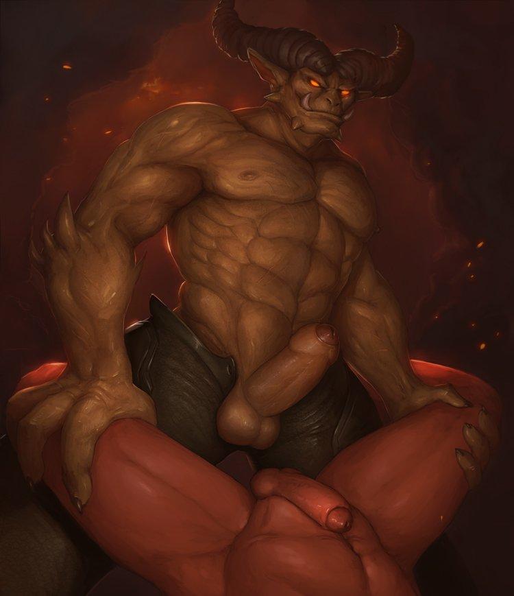 Devil gay dick