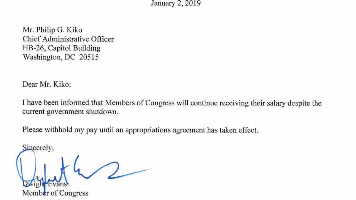 executive branch members salary