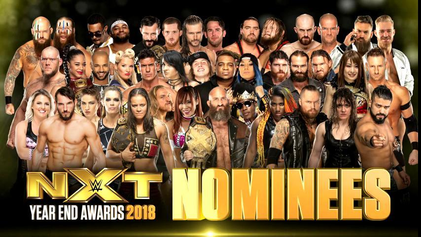 WWE NXT 2018 Year-End Awards Nominees Announced, Winners Revealed At Takeover, How To Vote