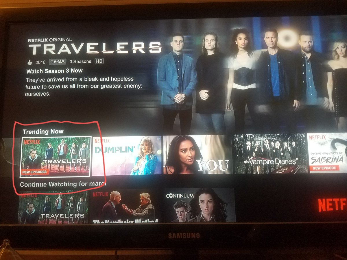 Our #Travelers still trending! Give us a Season 4 and beyond