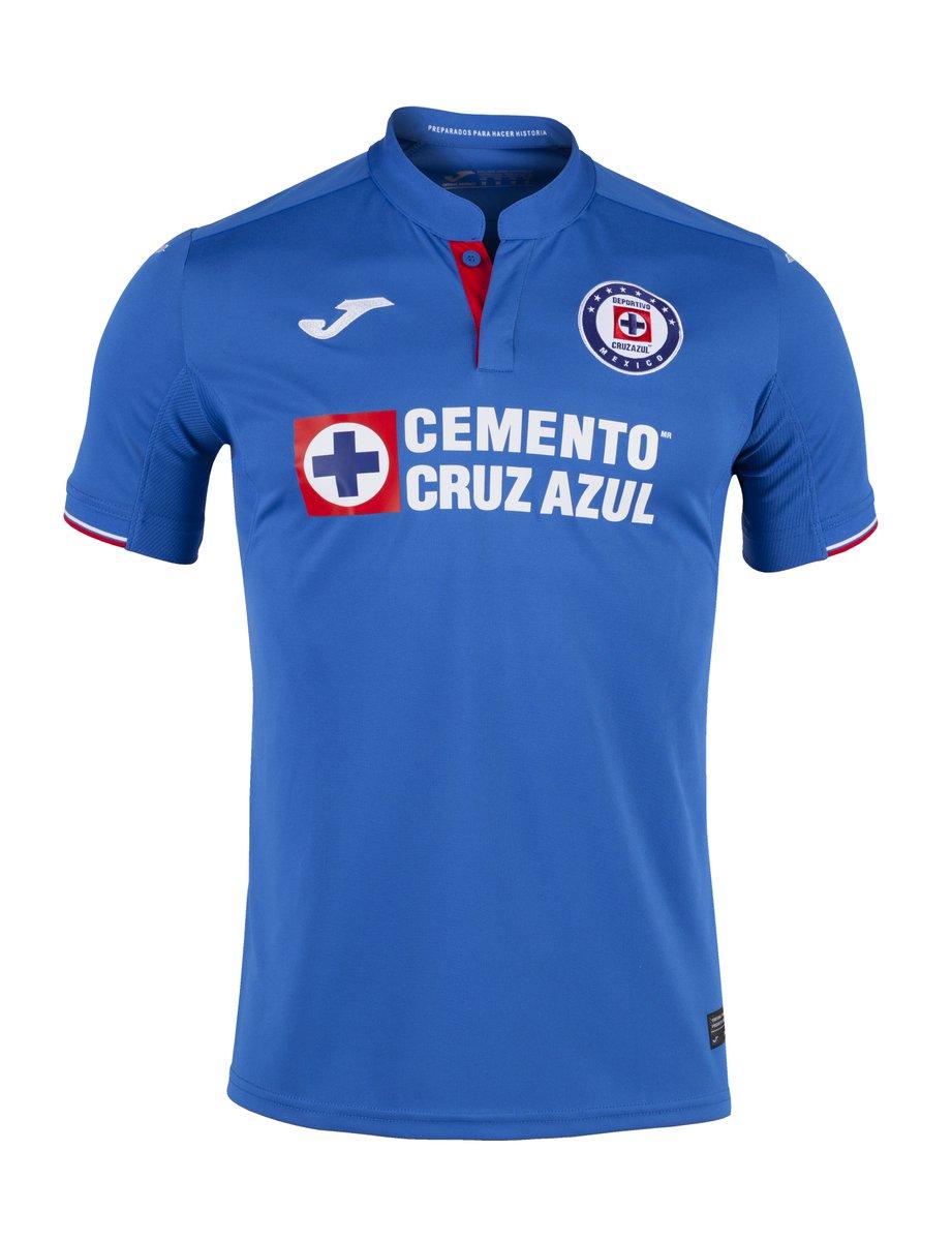 El jersey de Cruz Azul con Joma